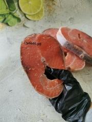 Стейки морской форели/крупные! Без льда. Мурманск 1 кг (5-8 шт)