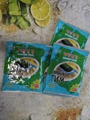 Хрустящая морская капуста (в кунжутном и кукурузном масле с солью)