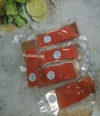 Слабо солёная сёмга (без консервантов и красителей) 1 шт 0,2-0,4 кг на шкуре!
