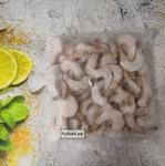 Тигровые креветки  Индия очищенные с хвостиками 500г, без льда