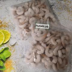 Тигровые креветки  Индия очищенные с хвостиками 1 кг, без льда